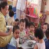 Bốc thăm để vào trường mẫu giáo công