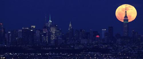 Ngắm siêu mặt trăng trên khắp thế giới - 11