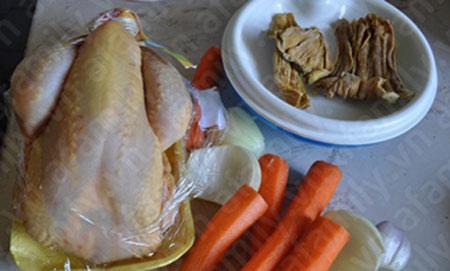 Bún gà nấu măng hấp dẫn - 1