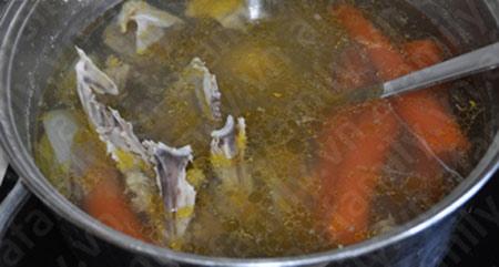 Bún gà nấu măng hấp dẫn - 4