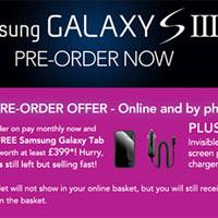 Mua Samsung Galaxy S3 miễn phí Galaxy Tab