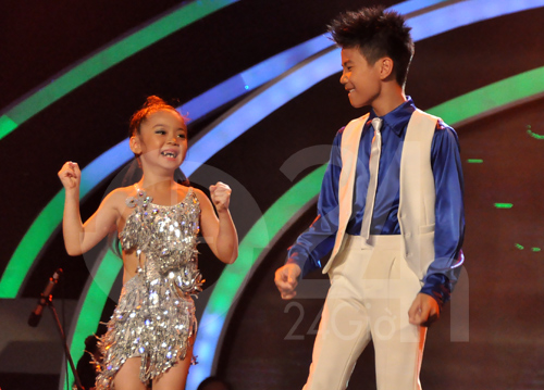 Đôi nhảy nhí làm nức lòng người hâm mộ, Ca nhạc - MTV, doi nhay nhi, dang quan, bao ngoc, vietnam got talent,vietnam's got talent, chung ket vietnam got talent, vietnam got talent 2012