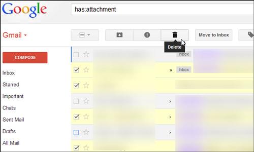 5 thủ thuật giúp tăng dung lượng trống trên Gmail - 2