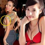 Thời trang - Đoán tính cách sao qua nốt ruồi ở ngực