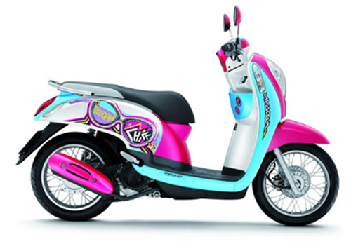 Honda Scoopy: Xe ga cho phái đẹp - 1