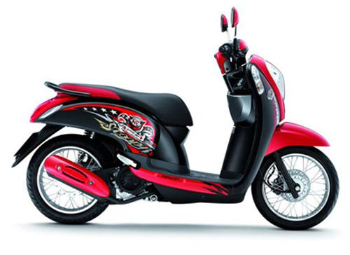 Honda Scoopy: Xe ga cho phái đẹp - 2