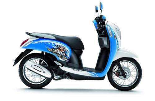 Honda Scoopy: Xe ga cho phái đẹp - 3