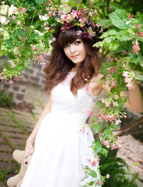 Hot girl Việt đẹp như búp bê baby - 5