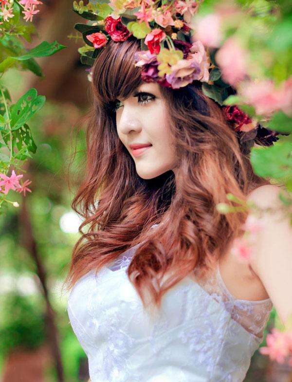 Hot girl Việt đẹp như búp bê baby - 1