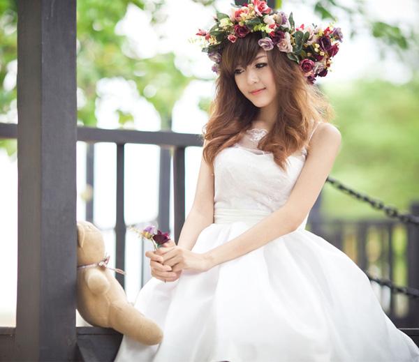 Hot girl Việt đẹp như búp bê baby - 12