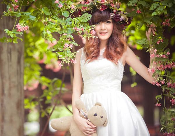 Hot girl Việt đẹp như búp bê baby - 8