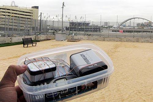 Dễ dàng đem bom vào SVĐ Olympic Luân Đôn - 2