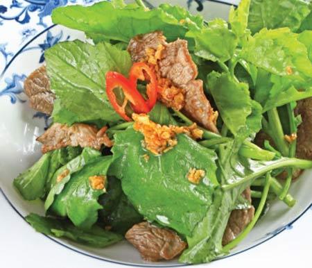 Món ngon từ cải trời xanh mướt, lạ miệng - 2