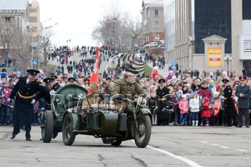 Nga duyệt binh rầm rộ mừng chiến thắng phát xít - 4