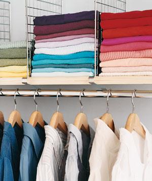 17 mẹo nhỏ cho tủ quần áo ngăn nắp - 12