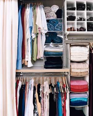 17 mẹo nhỏ cho tủ quần áo ngăn nắp - 6