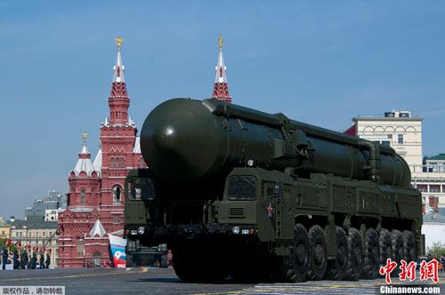 Vũ khí khủng trong lễ duyệt binh của Nga - 2