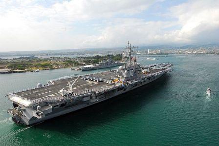 """Tập trận """"khủng"""" trên Thái Bình Dương - 1"""