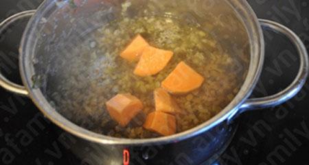 Chè đậu xanh khoai lang khó chối từ - 5
