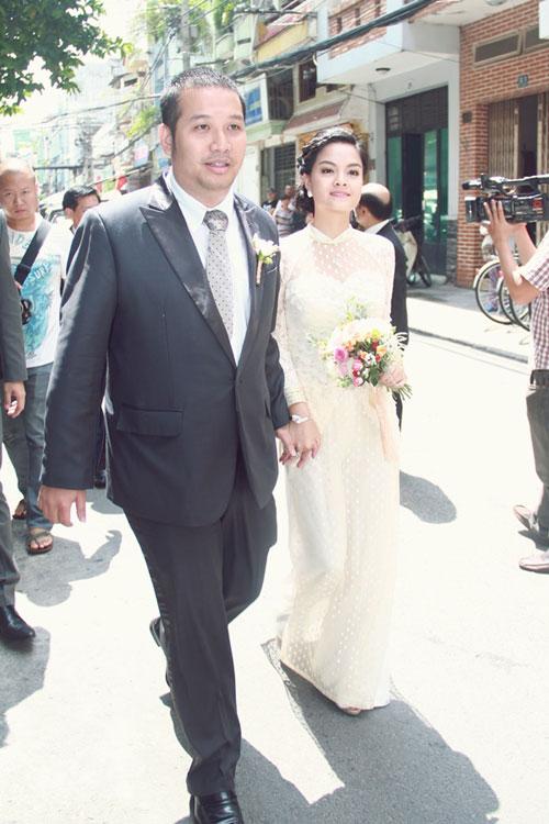 Phạm Quỳnh Anh e ấp làm cô dâu - 2