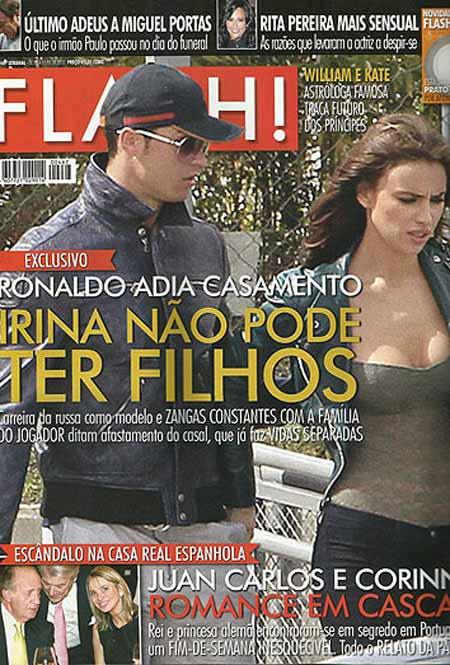 """Bạn gái Ronaldo """"tịt ngòi""""? - 3"""