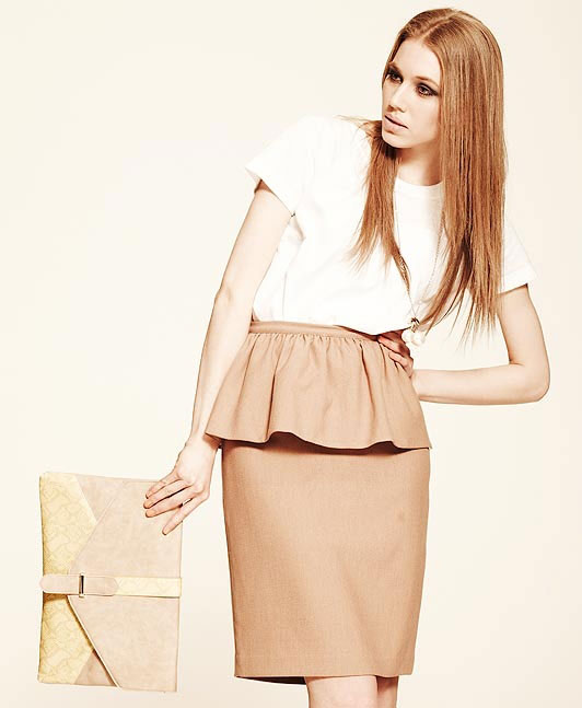 Mặc đẹp với váy áo peplum - 6
