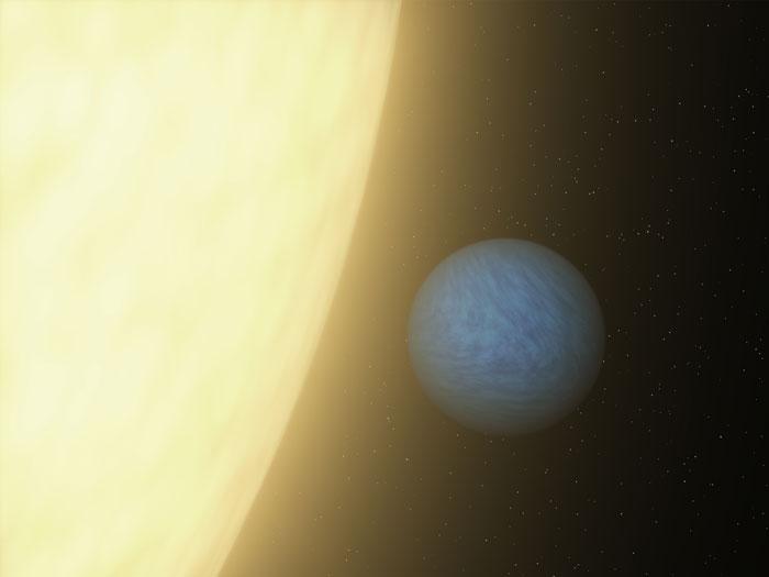 Bắt được ánh sáng từ siêu trái đất - 1