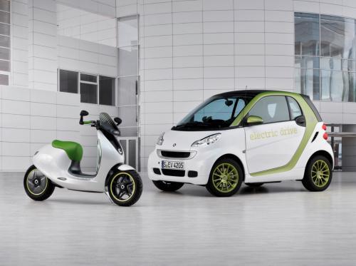 Xế điện Smart Escooter sắp ra mắt - 10
