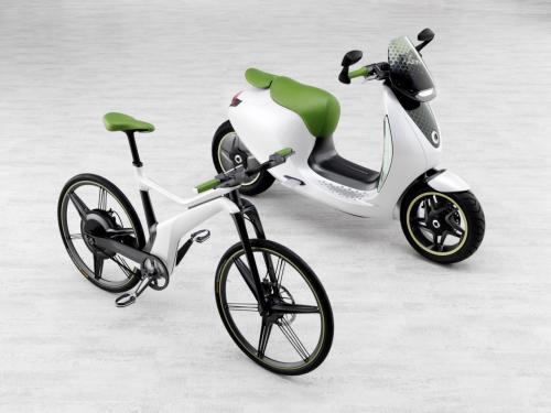 Xế điện Smart Escooter sắp ra mắt - 2
