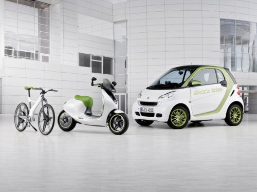 Xế điện Smart Escooter sắp ra mắt - 3