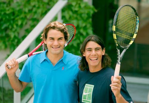 """Tennis 8: Nadal học Federer """"luyện công"""" - 1"""