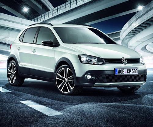 VW CrossPolo Urban màu trắng tinh khôi - 1