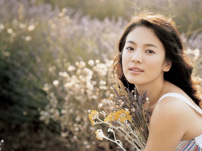 Gương mặt mộc đẹp nhất xứ Hàn - Song Hye Kyo