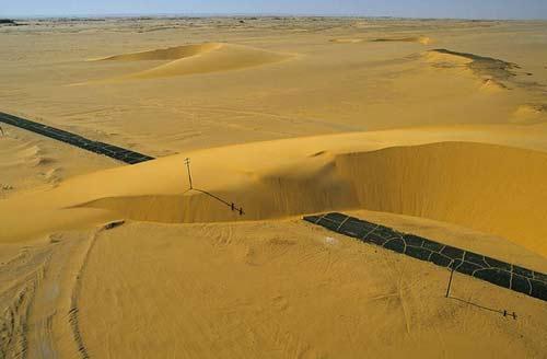 Những hình ảnh sa mạc đẹp lạ - 1