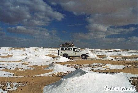 Tuyệt tác sa mạc trắng từ thiên nhiên - 2