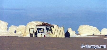Tuyệt tác sa mạc trắng từ thiên nhiên - 4