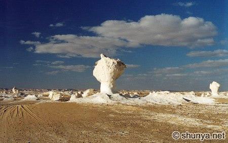 Tuyệt tác sa mạc trắng từ thiên nhiên - 6