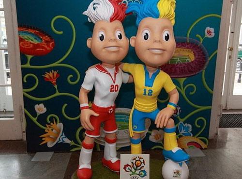 Công bố linh vật Euro 2012 - 2