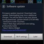 Thời trang Hi-tech - Samsung Galaxy Note nâng lên Android 4.0.3 ICS
