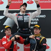 Video F1  Spanish GP: C hi ngn vng