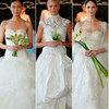 Năm 2013, cô dâu mặc gì?