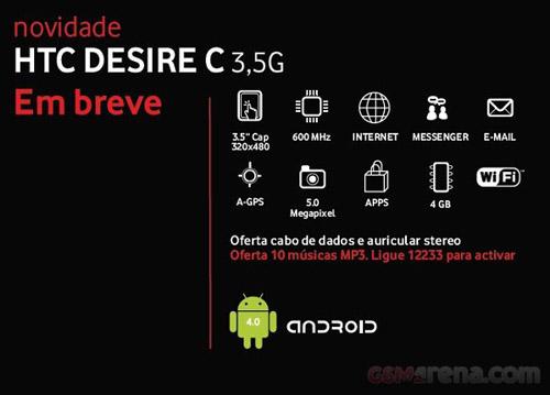 HTC Desire C có giá khoảng 5 triệu đồng - 2
