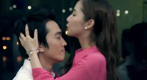 Jang Dong Gun kéo tuột váy người đẹp - 6