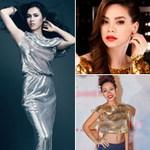 Thời trang - Sao bắt mắt với trang phục lấp lánh