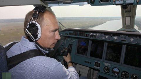 """Chùm ảnh: """"Biệt tài"""" của Tổng thống Putin - 6"""
