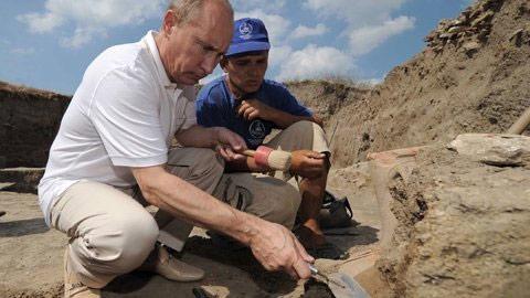 """Chùm ảnh: """"Biệt tài"""" của Tổng thống Putin - 8"""