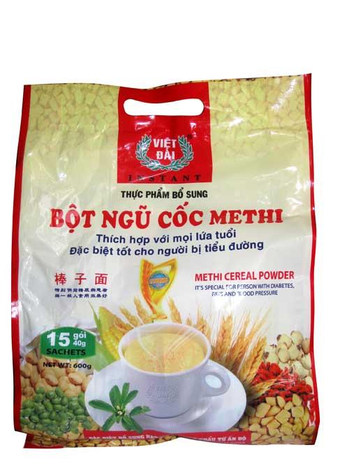 Bột ngũ cốc Methi – Sản phẩm giàu dinh dưỡng cho mọi nhà - 1