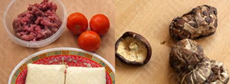 Canh đậu hũ thịt viên thơm hương nấm - 1