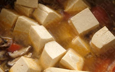 Canh đậu hũ thịt viên thơm hương nấm - 12