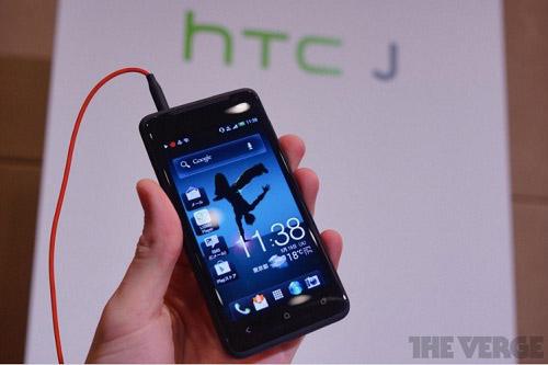 Trên tay HTC J - 1